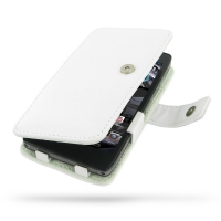 Leather Book Case for Motorola Droid Razr Maxx HD (White)