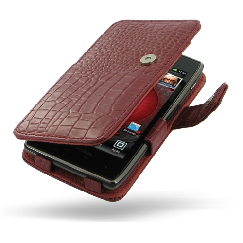 10% OFF + FREE SHIPPING, Buy PDair Top Quality Handmade Protective Motorola Droid Razr Maxx Leather Flip Cover (Red Croc) online. Pouch Sleeve Holster Wallet You also can go to the customizer to create your own stylish leather case if looking for addition