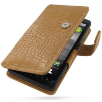 10% OFF + FREE SHIPPING, Buy Best PDair Quality Handmade Protective Motorola DROID X / Milestone X Leather Flip Cover (Brown Croc). You also can go to the customizer to create your own stylish leather case if looking for additional colors, patterns and ty