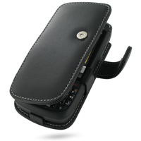 Motorola ES400 Leather Flip Cover PDair Premium Hadmade Genuine Leather Protective Case Sleeve Wallet