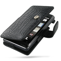 10% OFF + FREE SHIPPING, Buy Best PDair Quality Handmade Protective Motorola Milestone 2 / DROID 2 Leather Flip Cover (Black Croc). You also can go to the customizer to create your own stylish leather case if looking for additional colors, patterns and ty