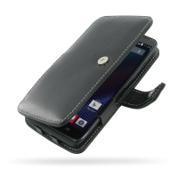 Leather Book Case for Motorola Moto Maxx XT1225