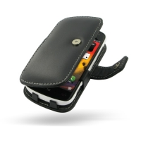 Nokia 808 PureView Leather Flip Cover PDair Premium Hadmade Genuine Leather Protective Case Sleeve Wallet
