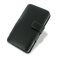 Nokia Lumia 625 Leather Flip Cover PDair Premium Hadmade Genuine Leather Protective Case Sleeve Wallet