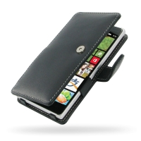 Leather Book Case for Nokia Lumia 830