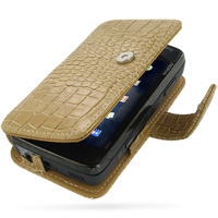 10% OFF + FREE SHIPPING, Buy Best PDair Top Quality Handmade Protective Nokia N900 Leather Flip Cover (Brown Croc) online. Pouch Sleeve Holster Wallet You also can go to the customizer to create your own stylish leather case if looking for additional colo