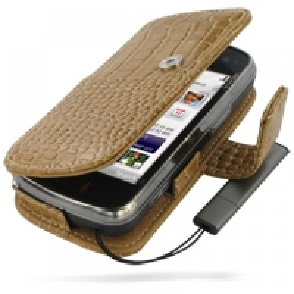 10% OFF + FREE SHIPPING, Buy Best PDair Top Quality Handmade Protective Nokia N97 Leather Flip Cover (Brown Croc) online. Pouch Sleeve Holster Wallet You also can go to the customizer to create your own stylish leather case if looking for additional color