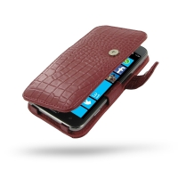 10% OFF + FREE SHIPPING, Buy Best PDair Top Quality Handmade Protective Samsung Ativ S Leather Flip Cover (Red Croc) online. Pouch Sleeve Holster Wallet You also can go to the customizer to create your own stylish leather case if looking for additional co