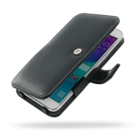 Samsung Galaxy Grand Max Leather Flip Cover PDair Premium Hadmade Genuine Leather Protective Case Sleeve Wallet