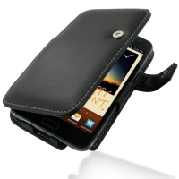 Leather Book Case for Samsung Galaxy Note GT-N7000