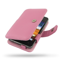 Leather Book Case for Samsung Galaxy Player 3.6 YP-GS1CB (Petal Pink)