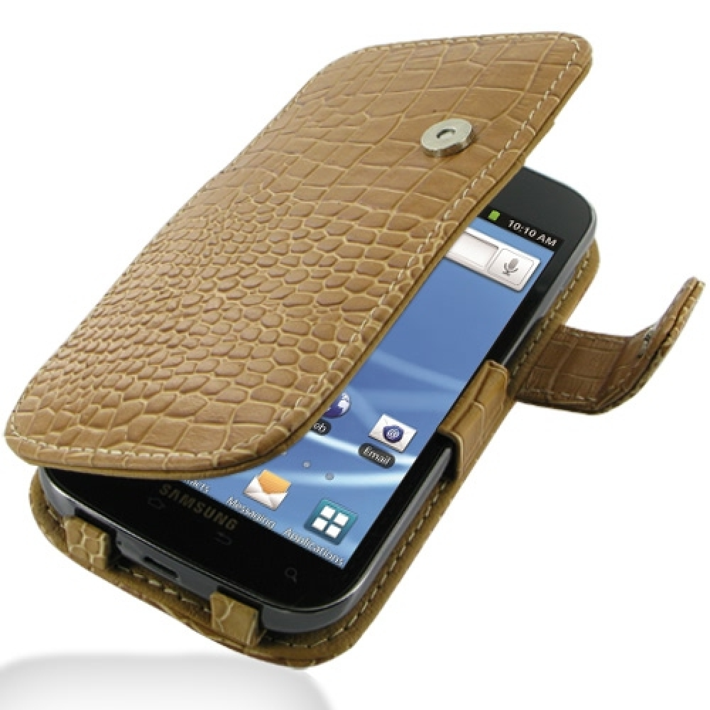 10% OFF + FREE SHIPPING, Buy PDair Top Quality Handmade Protective Samsung Galaxy S2 T989 Leather Flip Cover (Brown Croc) online. Pouch Sleeve Holster Wallet You also can go to the customizer to create your own stylish leather case if looking for addition