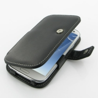 Leather Book Case for Samsung Galaxy S III S3 GT-i9300