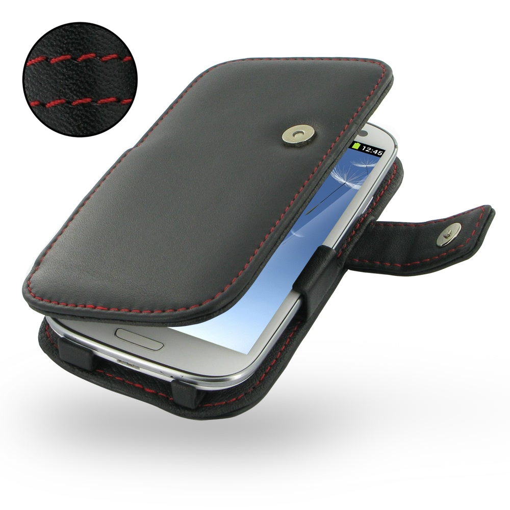 10% OFF + FREE SHIPPING, Buy Best PDair Top Quality Handmade Protective Samsung Galaxy S3 Leather Flip Cover (Red Stitch). Pouch Sleeve Holster Wallet You also can go to the customizer to create your own stylish leather case if looking for additional colo