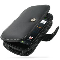 Leather Book Case for Samsung Google Nexus S GT-i9020T i9023 (Black)