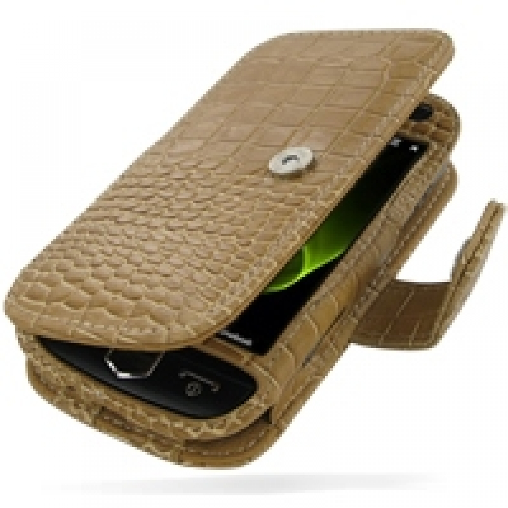 10% OFF + FREE SHIPPING, Buy PDair Top Quality Handmade Protective Samsung i8000 Omnia II Leather Flip Cover (Brown Croc) online. Pouch Sleeve Holster Wallet You also can go to the customizer to create your own stylish leather case if looking for addition