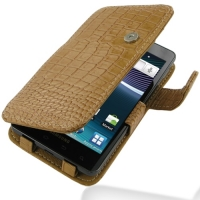 10% OFF + FREE SHIPPING, Buy Best PDair Top Quality Handmade Protective Samsung Infuse Leather Flip Cover (Brown Croc) online. Pouch Sleeve Holster Wallet You also can go to the customizer to create your own stylish leather case if looking for additional