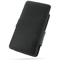 10% OFF + FREE SHIPPING, Buy PDair Quality Handmade Protective Sharp EM ONE S01SH with Extended Battery Leather Flip Cover (Black) online. You also can go to the customizer to create your own stylish leather case if looking for additional colors, patterns