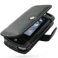 Leather Book Case for Sidekick LX (Black)