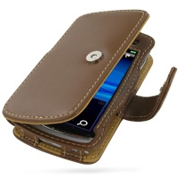10% OFF + FREE SHIPPING, Buy Best PDair Top Quality Handmade Protective Sony Ericsson Vivaz / U5i Leather Flip Cover (Brown). Pouch Sleeve Holster Wallet You also can go to the customizer to create your own stylish leather case if looking for additional c