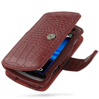 10% OFF + FREE SHIPPING, Buy PDair Top Quality Handmade Protective Sony Ericsson Vivaz / U5i Leather Flip Cover (Red Croc) online. Pouch Sleeve Holster Wallet You also can go to the customizer to create your own stylish leather case if looking for additio