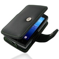 10% OFF + FREE SHIPPING, Buy Best PDair Quality Handmade Protective Sony Ericsson Xperia Mini Pro Leather Flip Cover (Green Stitch). You also can go to the customizer to create your own stylish leather case if looking for additional colors, patterns and t