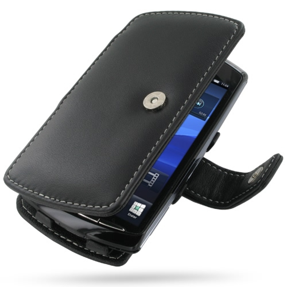 10% OFF + FREE SHIPPING, Buy Best PDair Top Quality Handmade Protective Sony Ericsson Xperia Play Leather Flip Cover (Black). Pouch Sleeve Holster Wallet You also can go to the customizer to create your own stylish leather case if looking for additional c