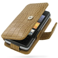 10% OFF + FREE SHIPPING, Buy PDair Top Quality Handmade Protective Sony Ericsson XPERIA X1 Leather Flip Cover (Brown Croc) online. Pouch Sleeve Holster Wallet You also can go to the customizer to create your own stylish leather case if looking for additio