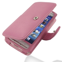 10% OFF + FREE SHIPPING, Buy PDair Quality Handmade Protective Sony Ericsson Xperia X10 Leather Flip Cover (Snap Button) (Petal Pink). You also can go to the customizer to create your own stylish leather case if looking for additional colors, patterns and