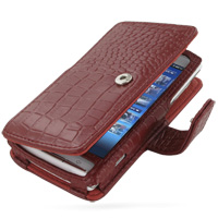 10% OFF + FREE SHIPPING, Buy PDair Quality Handmade Protective Sony Ericsson Xperia X10 Leather Flip Cover (Snap Button) (Red Croc) online. You also can go to the customizer to create your own stylish leather case if looking for additional colors, pattern