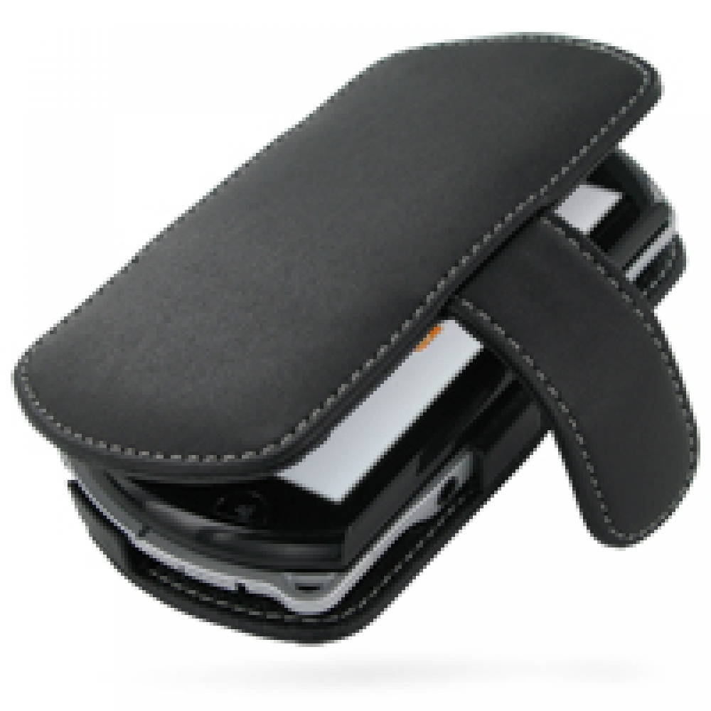 Leather Book Case for Sony PSP GO (Black)
