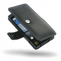 Leather Book Case for Sony Walkman NW-F880 NW-F885 NW-F886 NW-F887