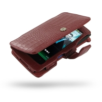 10% OFF + FREE SHIPPING, Buy Best PDair Quality Handmade Protective Sony Walkman NWZ-Z1060 Z1050 Z1040 Leather Flip Cover (Red Croc) You also can go to the customizer to create your own stylish leather case if looking for additional colors, patterns and t