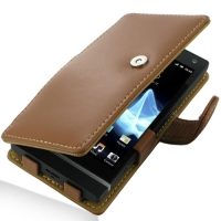 10% OFF + FREE SHIPPING, Buy Best PDair Top Quality Handmade Protective Sony Xperia S Leather Flip Cover (Brown) online. Pouch Sleeve Holster Wallet You also can go to the customizer to create your own stylish leather case if looking for additional colors