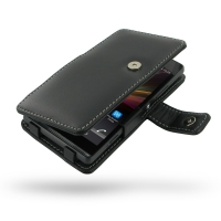 Sony Xperia SP Leather Flip Cover PDair Premium Hadmade Genuine Leather Protective Case Sleeve Wallet