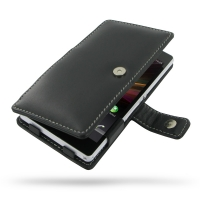 Leather Book Case for Sony Xperia Z L36H