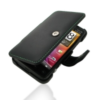 10% OFF + FREE SHIPPING, Buy Best PDair Top Quality Handmade Protective Sprint HTC EVO 3D Leather Flip Cover (Green Stitch). Pouch Sleeve Holster Wallet You also can go to the customizer to create your own stylish leather case if looking for additional co