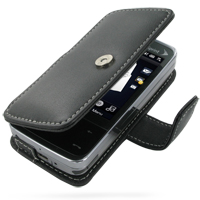 10% OFF + FREE SHIPPING, Buy Best PDair Top Quality Handmade Protective Sprint HTC Touch Pro Leather Flip Cover (Black) online. Pouch Sleeve Holster Wallet You also can go to the customizer to create your own stylish leather case if looking for additional