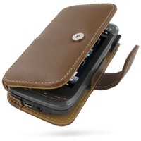 10% OFF + FREE SHIPPING, Buy Best PDair Top Quality Handmade Protective Sprint HTC Touch Pro2 Leather Flip Cover (Brown) online. Pouch Sleeve Holster Wallet You also can go to the customizer to create your own stylish leather case if looking for additiona