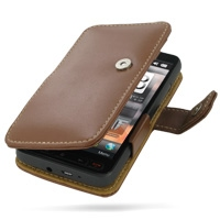 10% OFF + FREE SHIPPING, Buy Best PDair Top Quality Handmade Protective T-Mobile HTC HD2 Leather Flip Cover (Brown) online. Pouch Sleeve Holster Wallet You also can go to the customizer to create your own stylish leather case if looking for additional col