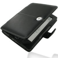 Leather Book Stand Case for Amazon Kindle 4 (Black)
