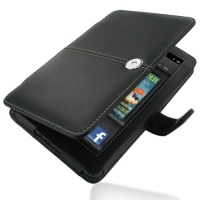 Leather Book Stand Case for Amazon Kindle fire (Black)
