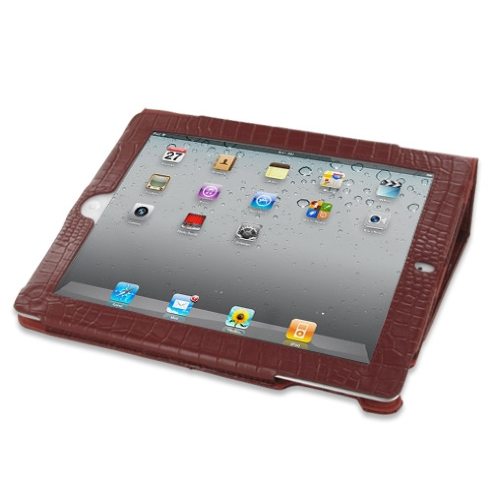 10% OFF + FREE SHIPPING, Buy Best PDair Quality Handmade Protective iPad 2 3 4 Genuine Leather Flip Carry Cover (Red Croc) online. Pouch Sleeve Holster Wallet You also can go to the customizer to create your own stylish leather case if looking for additio