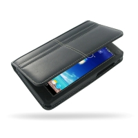 Asus PadFone mini station Leather Flip Carry Cover PDair Premium Hadmade Genuine Leather Protective Case Sleeve Wallet