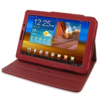 10% OFF + FREE SHIPPING, Buy Best PDair Quality Handmade Protective Samsung Galaxy Tab 7.7 GT-P6800 Leather Flip Carry Cover (Red). You also can go to the customizer to create your own stylish leather case if looking for additional colors, patterns and ty
