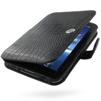 10% OFF + FREE SHIPPING, Buy PDair Top Quality Handmade Protective Samsung Galaxy Tab Leather Flip Carry Cover (Black Croc) online. You also can go to the customizer to create your own stylish leather case if looking for additional colors, patterns and ty