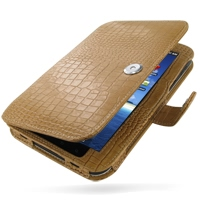 10% OFF + FREE SHIPPING, Buy PDair Top Quality Handmade Protective Samsung Galaxy Tab Leather Flip Carry Cover (Brown Croc) online. You also can go to the customizer to create your own stylish leather case if looking for additional colors, patterns and ty