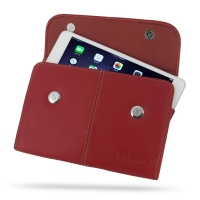 Leather Business Style Case for Apple iPad Mini 3 / iPad Mini 2 (Red)