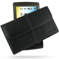 Leather Business Style Case for Archos 70 Internet Tablet (250GB) (Black)