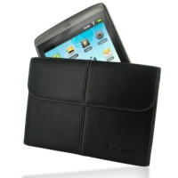 Leather Business Style Case for Archos 80 G9 (Black)